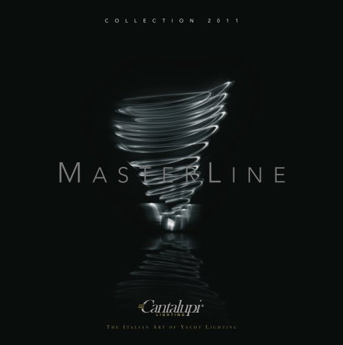 Cantalupi Lighting LED MasterLine Collection Catalogue