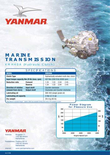 KMH40A Hydraulic Clutch