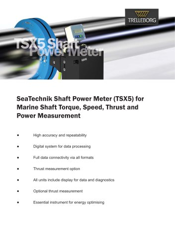 SeaTechnik - TSX5 Shaft Power Meter