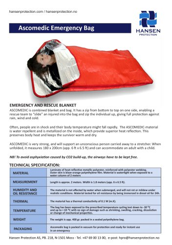 Ascomedic Emergency Bag