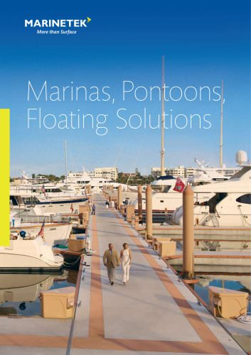 Marinas, Pontoons, Floating Solutions