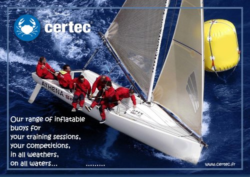 CERTEC inflatable buoys