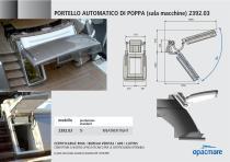 Automatic stern port model 2392.03 - 1