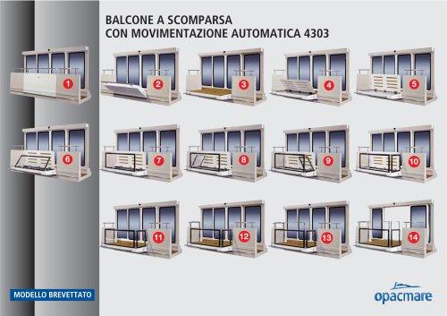 Balcone modello 4303