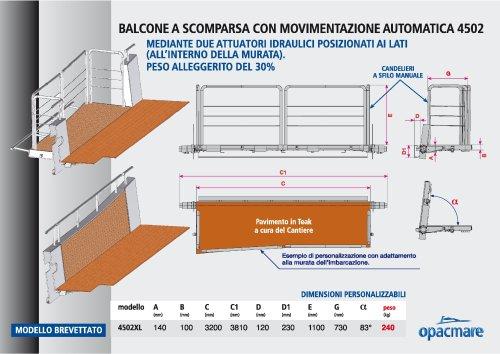 box balcony model 4502