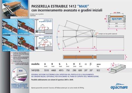 passerelle model 1412 MAXI