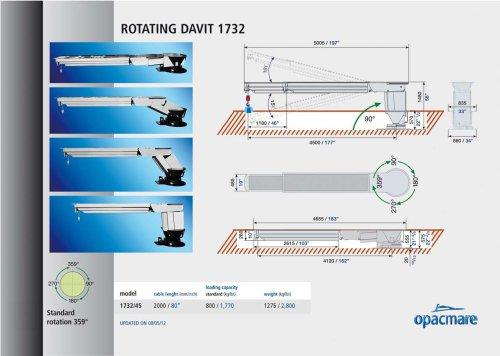 Rotating Davit 1732