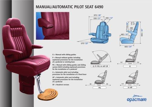 seat model 6490