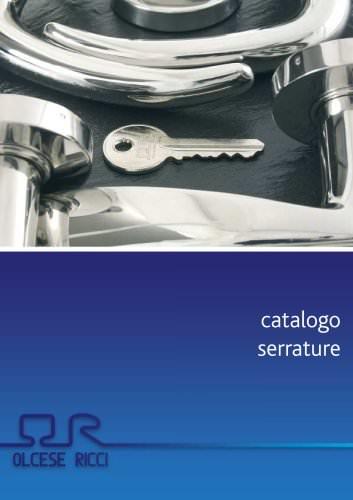 Catalogo serrature