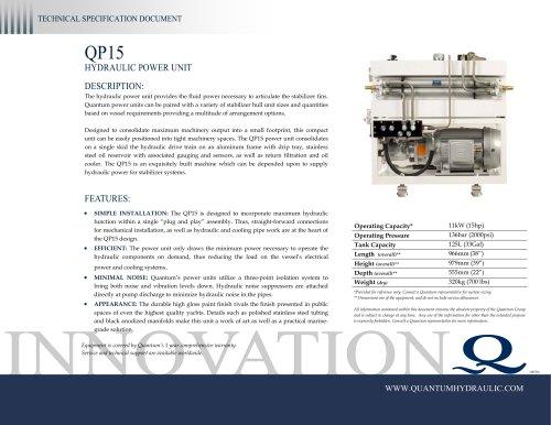 Quantum HPU QP15