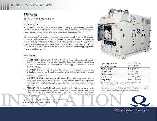 Quantum HPU QP7575