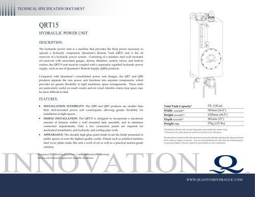 Quantum HPU QRT15