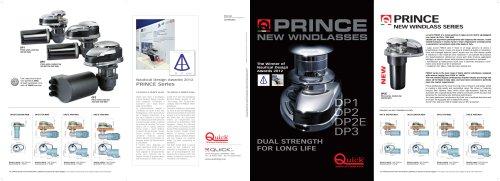 PRINCE New windlass series