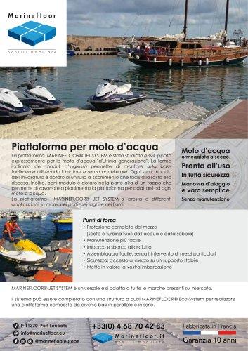 Piattaforma per moto d'acqua - MARINE FLOOR -2020.pdf
