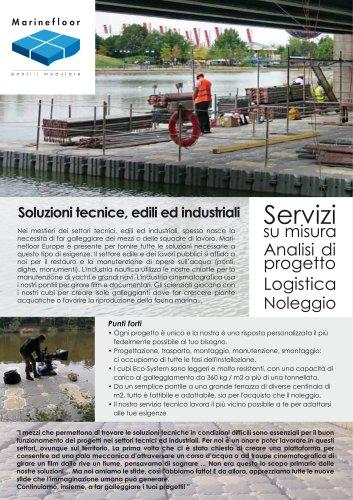 Soluzioni per settori tecnici, edili ed industriali - Marinefloor