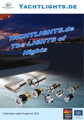 Yachtlights underwaterlights