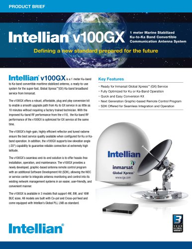 Brochure v100GX