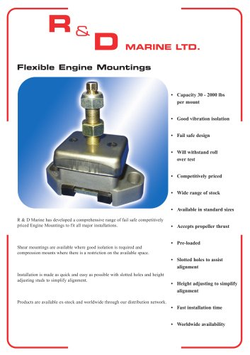Flexible Engine Mountings