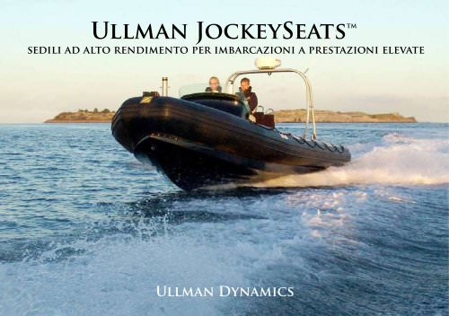 Ullman Jockey Seats