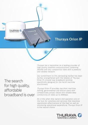 Thuraya Orion IP Factsheet