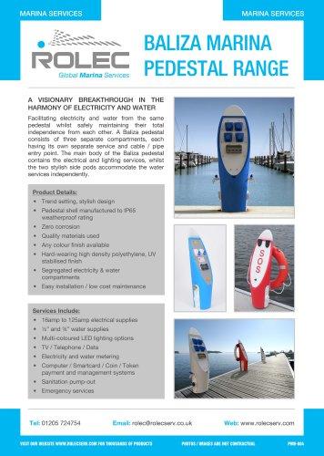 Baliza Marina Pedestal Range