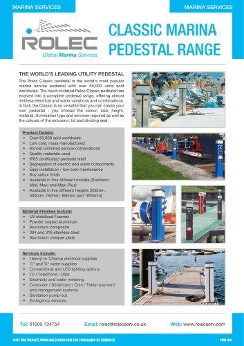 Classic Marina Pedestal Range