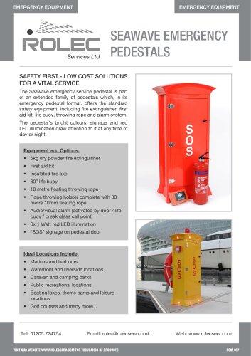 Seawave Emergency Pedestals