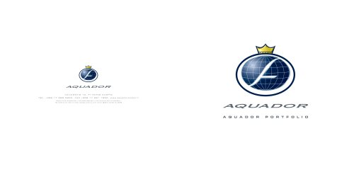 Aquador brochure 2009