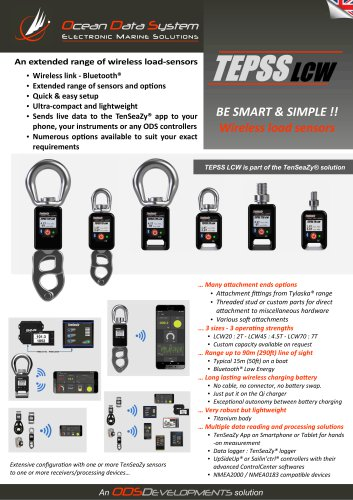 TEPSS LCW - Wireless load sensors