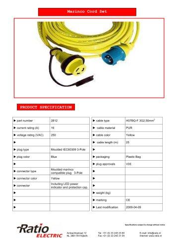 marinco cord set