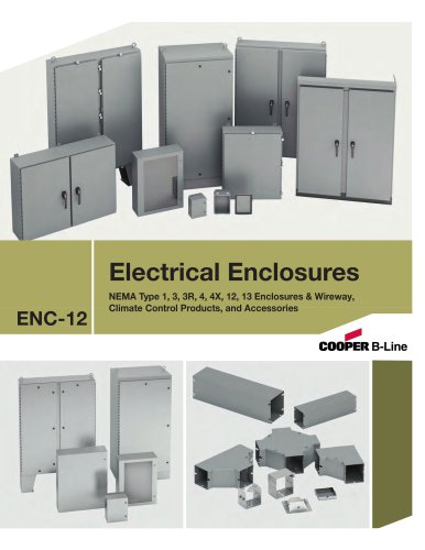 Industrial non-hazardous enclosures