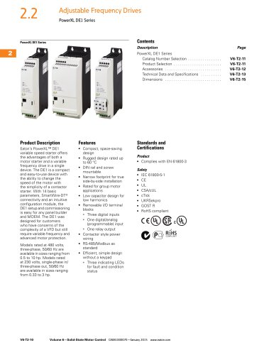 PowerXL DE1 Catalog