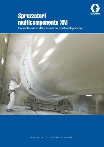 Spruzzatori multicomponente XM