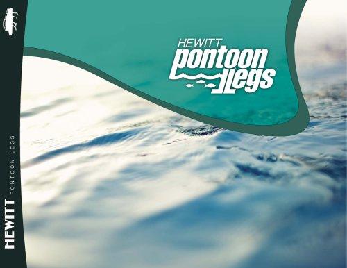 pontoon legs brochure