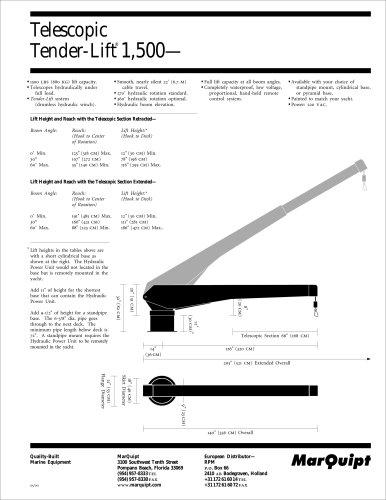 Tender-Lift 1,500 Telescopic