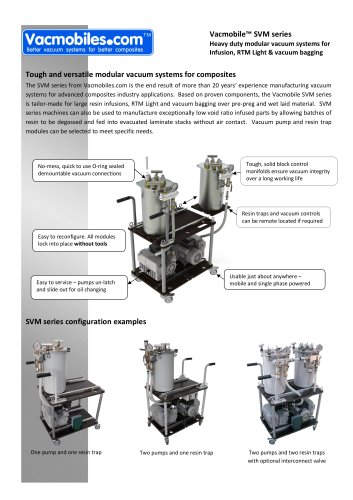 Vacmobile SVM modular vacuum systems