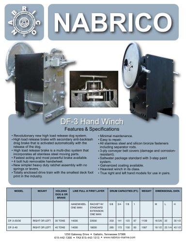 DF-3 Hand Winch