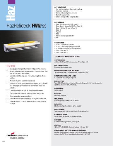 HazHelideck FWN/ss