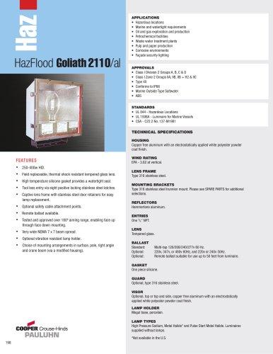 Pauluhn? HazFlood Goliath 2110/al Floodlights