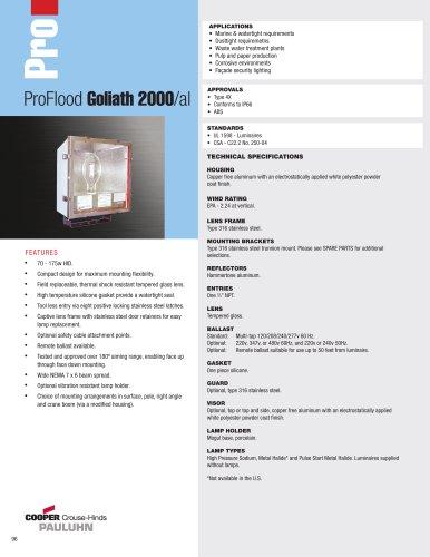 Pauluhn ProFlood Goliath 2000/al Floodlights
