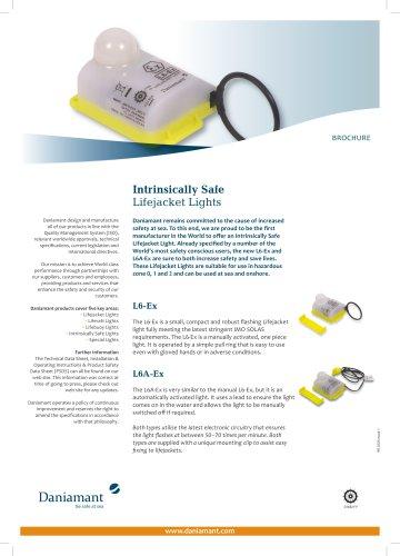 Intrinsically Safe Lifejacket Lights