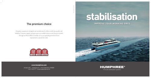 Main Brochure COMMERCIAL VESSEL