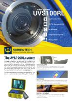 Underwater video camera UVS100RL