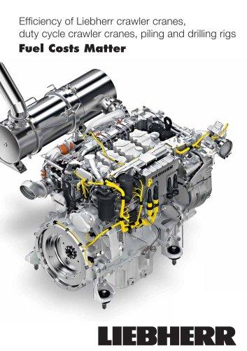 Efficiency-enhancing engine features