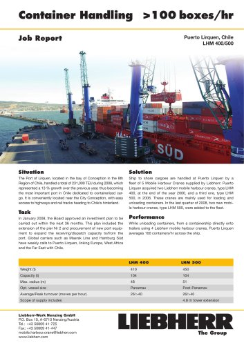 Job Report : Container Handling PDF