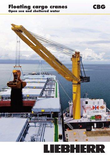 Liebherr CBG Floating cargo cranes