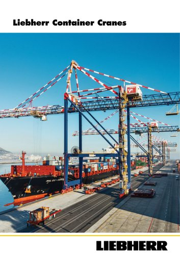 Liebherr Container Cranes