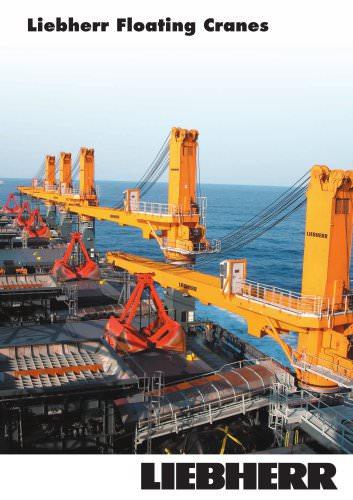 Liebherr Floating Cranes