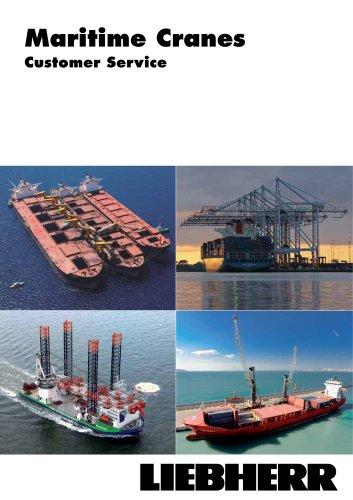 Liebherr Global Customer Service for Maritime Cranes