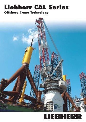 Liebherr Heavy-Lift Offshore Cranes CAL Series (crane around the leg)